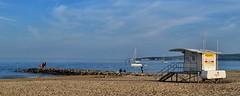 Down By The Sea (Tilney Gardner) Tags: sea coast nikon dorset southcoast sandbanks poole