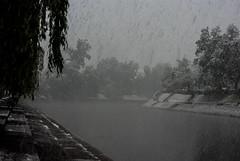 Ljubljanica (Bergzan) Tags: snow river slovenia april ljubljana ljubljanica
