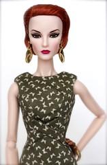 Fine Print Elise Jolie (DK Dolls) Tags: red jason fashion hair print doll elise fine collection jolie wu fr royalty elyse integrity fr2