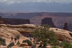 Mesa Arch-7 (travelin) Tags: canyonlandsnationalpark mesaarch