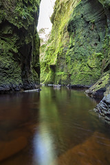 Devil's Pulpit, Finnich Glen (Rossco156433) Tags: nature water river landscape outdoors scotland glen hidden burn stirlingshire renfrewshire killearn devilspulpit finnichglen
