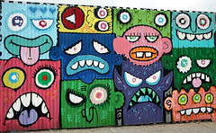 by Phetus (SA_Steve) Tags: nyc streetart art wall brooklyn mural expressionism monsters bushwick monstrous phetus phetus88 monstrousexpressionism phetuscom