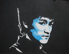 Bruce Lee (Katie_Russell) Tags: ireland grafitti bridges belfast skatepark graffitti northernireland ni brucelee ulster nireland countyantrim norniron coantrim