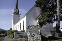 Mendocino Presbyterian Church (dcnelson1898) Tags: california northerncalifornia outdoors photography coast nikon highway1 pacificocean mendocino mendocinocounty historicallandmark mendocinopresbyterianchurch