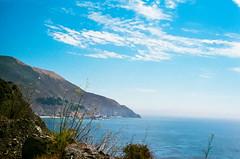 45430014 (danimyths) Tags: ocean california mountains film beach nature water landscape coast waterfront pacific roadtrip pch pacificocean westcoast pacificcoastalhighway filmphotography
