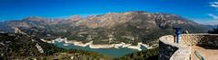 Panormica Guadalest y Pantano (Juandalfweb) Tags: costa lumix spain panasonic alicante blanca guadalest alacant panasoniclumixgx8