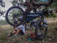 Lunch Break (Neil Ennis) Tags: cycling story mtb bnt southburnett oldcoachroad bicentennialnationaltrail bunyamtsbikepack2016 httpnbeme8490 oldeskroad