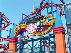 Coney Island (Carl Hall Photography) Tags: nyc newyorkcity newyork film mediumformat coneyisland ride fairground kodak bronica ektar homedeveloped etrs bronicaetrs tetenalc41 kodakektar100 broncia75mmeii