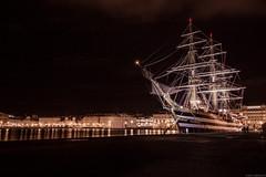 """Il veliero """"Amerigo Vespucci"""" attraccato sulle Rive di Trieste (carlo.goweather) Tags: sea canon boat mare nave trieste pirat trst veliero friuliveneziagiulia eos100d canoneos100d canon100d"""