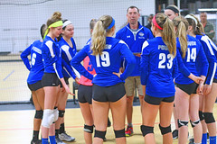 IMG_1054 (SJH Foto) Tags: school girls club high team teenagers teens volleyball huddle pregame tweens