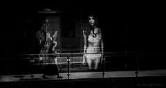 All women are different (dalibor.papcun) Tags: blackandwhite contrast idea mono women sister walk nun step instant feeling outline kosice aupark monochromat nikond7000