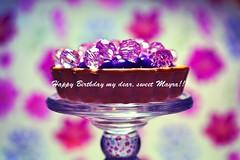 Happy Birthday Mayra!!!!  (marsider07) Tags: dedication beads card wishes happybirthday girlie flowery