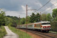 CC-6570 en Savoie (Maxime Espinoza) Tags: train paca avignon sncf albertville corail 6500 6570 tresserve apcc6570 preserve