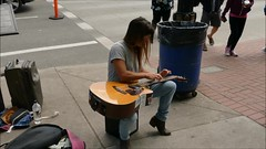 Unique Playing Style - Video (swong95765) Tags: musician music woman lady female artist different guitar unique awesome style talent fingernails pick talented harmonics