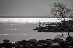 Fishing For Diamonds (skram1v) Tags: morning breakfast diamonds fisherman air peaceful traversebay lakewinnipeg sandybay may2016