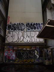 Graffiti in Tokyo 2014 (kami68k -all over-) Tags: up tom graffiti tokyo box illegal sailor grime bombing throw throwup wanto 2014 246 tgf