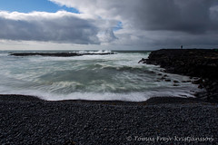 Malarrif (Tmas Freyr) Tags: ocean sea sky seascape water clouds landscape iceland waves wave cliffs sjr snfellsnes sk brim snaefellsnes roughsea landslag malarrif lndrangar snaefellsnespeninsula vesturland snfellsnespeninsula