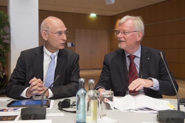 Patrick Oliva with Klaus-Dieter Scheurle