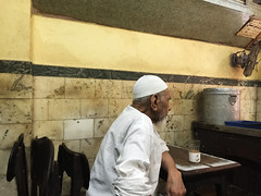 The Chai Works on Him the Way Ghalib Works on Other People (Mayank Austen Soofi) Tags: people way him other tea delhi works chai walla the ghalib