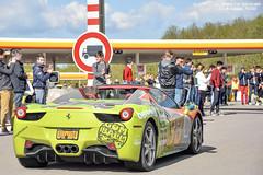 Ferrari 458 Spider (Alexandre Prvot) Tags: auto cars car sport automobile european parking transport automotive voiture route exotic luxembourg lux supercar luxe berline exotics supercars ges gumball3000 dplacement worldcars grandestsupercars