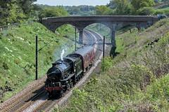 Bonus K1 (4486Merlin) Tags: england europe unitedkingdom transport steam northeast railways countydurham gbr 62005 sunderlandbridge exlner croxdaleandhett brclassk1
