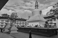 Do Drul Chorten Stupa (Nitya..) Tags: travel june nikon stupa nikkor sikkim gangtok 2016 1685 d5200 silverefexpro dodrulchortenstupa googlenik