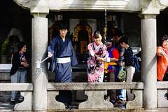 Otowa Waterfall (p.fabian) Tags: japan jp  kimono  japn kytoshi kytofu japn
