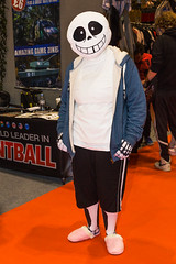 London MCM Comic Con - May 2016 (Katy/BlueyBirdy) Tags: london cosplay may convention videogame docklands cosplayer comiccon excel sans royalvictoriadock 2016 newham excelexhibitioncentre londonmcm undertale