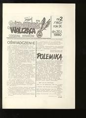AISW_125_001 (Kolportaz Solidarnosci Walczacej) Tags: krakow sw 1990 czasopismo aisw