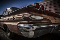 Poor Old Norm Thinks It's A Cadillac (Stubble Jumper Photography) Tags: sedan american pontiac 1960s 1960 fullsize 4door fourdoor starchief