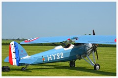 Morane Saulnier MS 317 HY22 (Ciaranchef's photography.) Tags: flying airplanes airshow shuttleworth aeroplanes airdisplay vintageaircraft shuttleworthcollection oldwarden vintageaeroplanes flyingdisplay