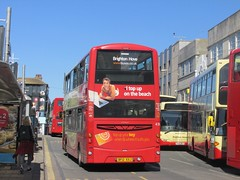 ' Western Rd, Brighton on 1A (1) (1280x960) (dearingbuspix) Tags: route1 430 brightonhove goahead sirjackhobbs bf12kxj