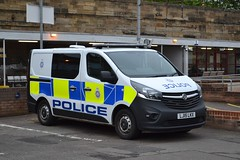 British Transport Police - D41 - LJ15LKX; Motherwell Station; 28-05-2016 (Graeme's Truck Pics) Tags: vauxhall motherwell britishtransportpolice