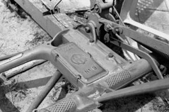 no9 Gearbox (bergytone) Tags: bw film analog gear olympus attachment 100 om2 gearbox xtol om2n kentmere