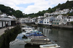 Polperro Harbour (lazy south's travels) Tags: uk england english town seaside fishing cornwall village harbour britain side british waterside polperro