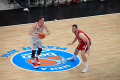 IMG_6144 (seba82) Tags: canon basket pallacanestro olimpiamilano grissinbon pallacanestroreggiana eos5dmkii seba82 sebastanosalati sebastianosalatigmailcom wwwsebastianosalatiit emporioarmanai