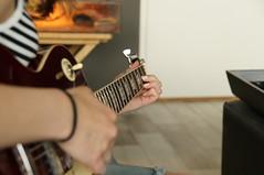 jamming (deborah's perspective) Tags: electric rotterdam guitar charly gitaar