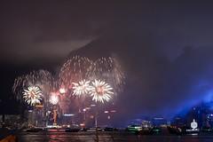 CNY2010_fireworks_056 (my.mosaic.life) Tags: city sea water ferry skyline hongkong harbor ship fireworks harbour citylife newyear celebration nightlife nitelite victoriaharbour victoriaharbor