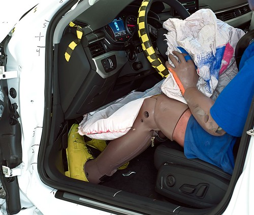 Audi A4 IIHS краш-тест