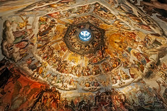 Cupola del Brunelleschi - Firenze (Italy) (Massimo Ciotti - (Alfaluna)) Tags: italy nikon italia cupola firenze affreschi brunelleschi affresco vasari d90 federicozuccari giudiziouniversale cupoladelbrunelleschi