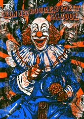 clown 2c copixxxxxe (ar-dco) Tags: chien hot sexy art basketball club cat fun pig football cool screenprint punk fuck lol fat clown bad screen alcool silkscreen funk skateboard mayo lille cochon 59 srigraphie serigraphy friture sabordage ardco ardzn