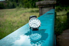 Reflect on your time. (CiaranFitzgeraldPhotography) Tags: bridge blue reflection nature beautiful beauty canon wow landscape raw time gorgeous watch stunning hd incredible measure timeless mycanon watchface shootraw