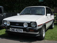 1982 FORD FIESTA XR2 (geccove) Tags: white cne