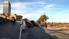 Playa de Barceloneta - 2016 (FMPhotoFraMe) Tags: barcellona spain espana spagna trip summer travel sea port barceloneta