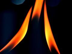 Hot (mostaphaghaziri) Tags: blue orange hot cold macro fire three nikon micro nikkor mondays 105mm d7200