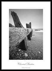 Chemical Structure. Explored. (Mike Palmer Fauxtography. Mainly OFF) Tags: seascape landscape sea tide north east canon eos 7d england le long exposure lee filters big stopper water seaham county durham chemical beach wood wooden structure groyne michaelpalmer monochrome mono bw efs1022mm f3545 usm explore explored