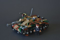 Updated Stug (~J2J~) Tags: tank lego iii camo destroyer german ww2 stug brickarms citizenbrick