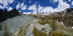 Once there was a glacier (supersky77) Tags: verragrande morena ghiacciaiograndediverra moraine ghiacciaio glacier alpi alps alpes alpen deglaciazione globalwarming climatechange deglaciation ayas valdayas aosta valledaosta valledaoste