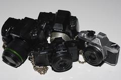PENTAX WORLD (kingkong21) Tags: camera miniature pentax arts mx takara tomy k5 k7