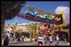 the dr seuss experience (Neil Tackaberry) Tags: park usa colors orlando colorful colours florida dr seuss fantasy experience theme universal colourful drseuss themepark seusslanding islandsofadventure universalorlando